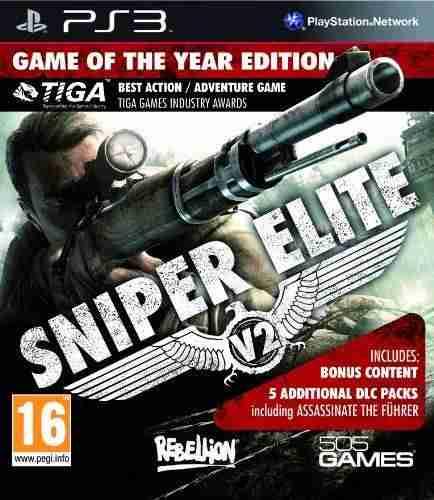 Descargar Sniper Elite V2 GOTY [MULTI][Region Free][FW 4.3x][iNSOMNi] por Torrent